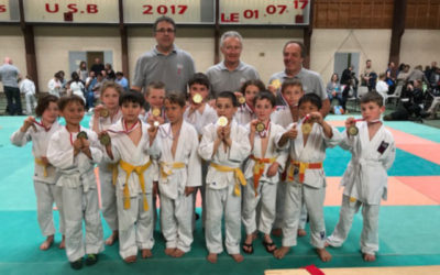 Rencontre Judo Avril 2018
